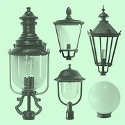 Schlesische Leuchtenaufsätze