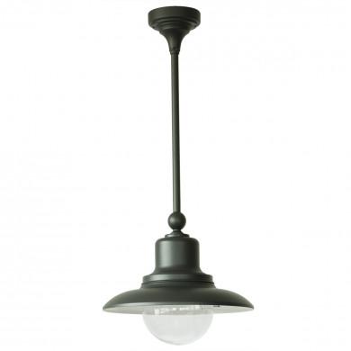 deckenlampe f r au en mit makrolon glas terra lumi. Black Bedroom Furniture Sets. Home Design Ideas