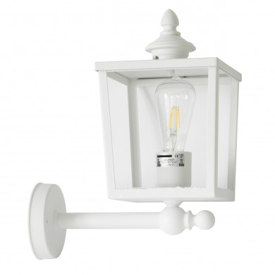 Small Square Stainless Steel Outdoor Wall Light With Short