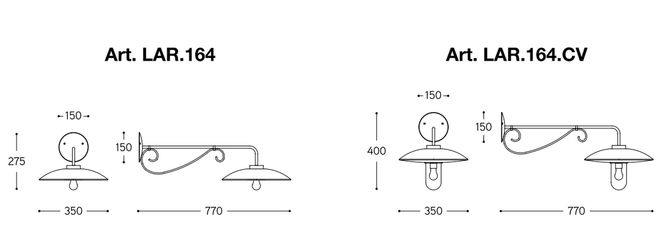 mediterrane wandleuchte re lear 164 aus kupfer und messing. Black Bedroom Furniture Sets. Home Design Ideas
