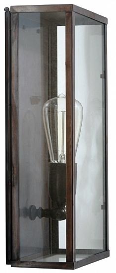Handcrafted Art D 233 Co Brass Wall Light Vitrine 1ln Terra Lumi