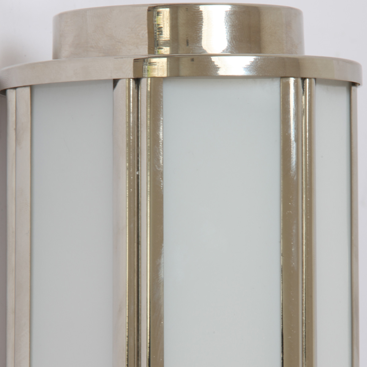 French art deco brass sconce balinea 30 terra lumi for Art deco exterior light fixtures