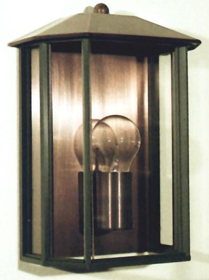 Original German Tombac or Copper Wall Light Kempten - Terra Lumi