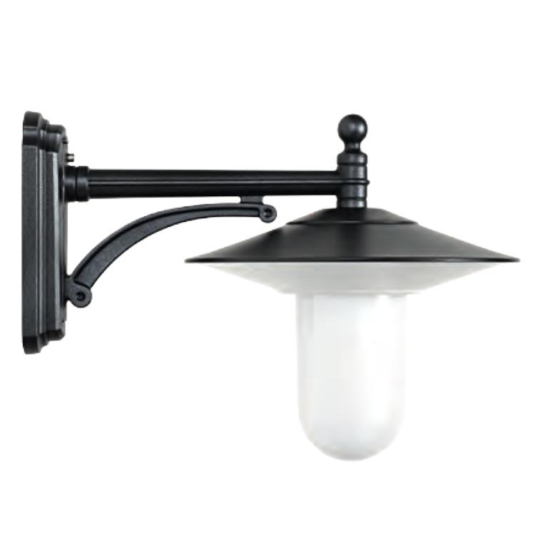 Au en wandlampe mit zylinder glas terra lumi - Aussen wandlampe ...