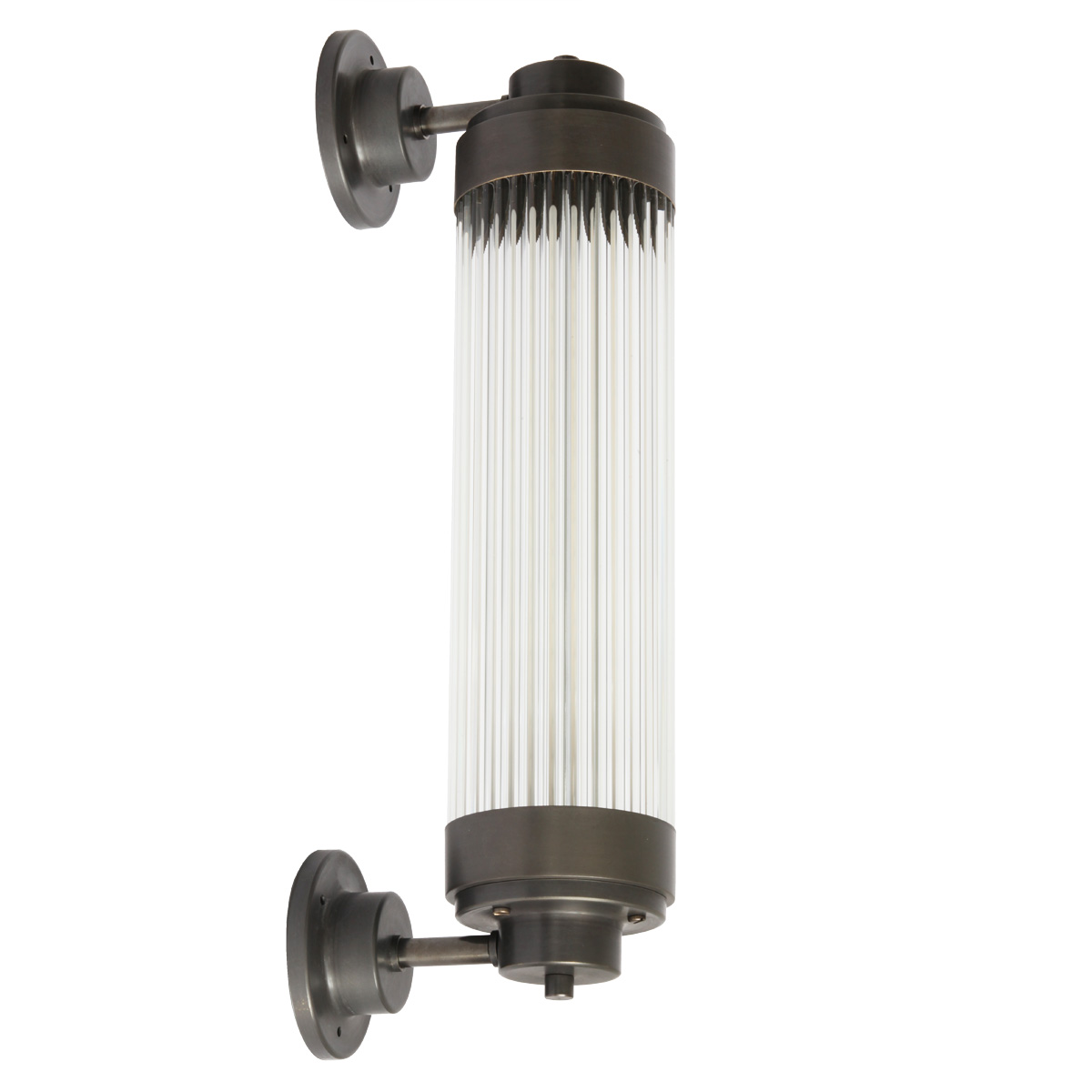 Dimmable Art Déco Outdoor Light With Led Terra Lumi