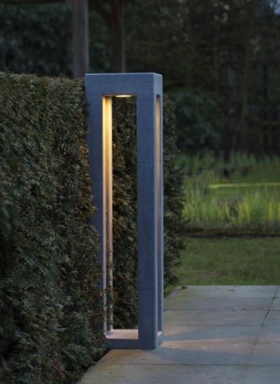 Gartenleuchte Pipilier Aus Belgischem Blaustein Terra Lumi