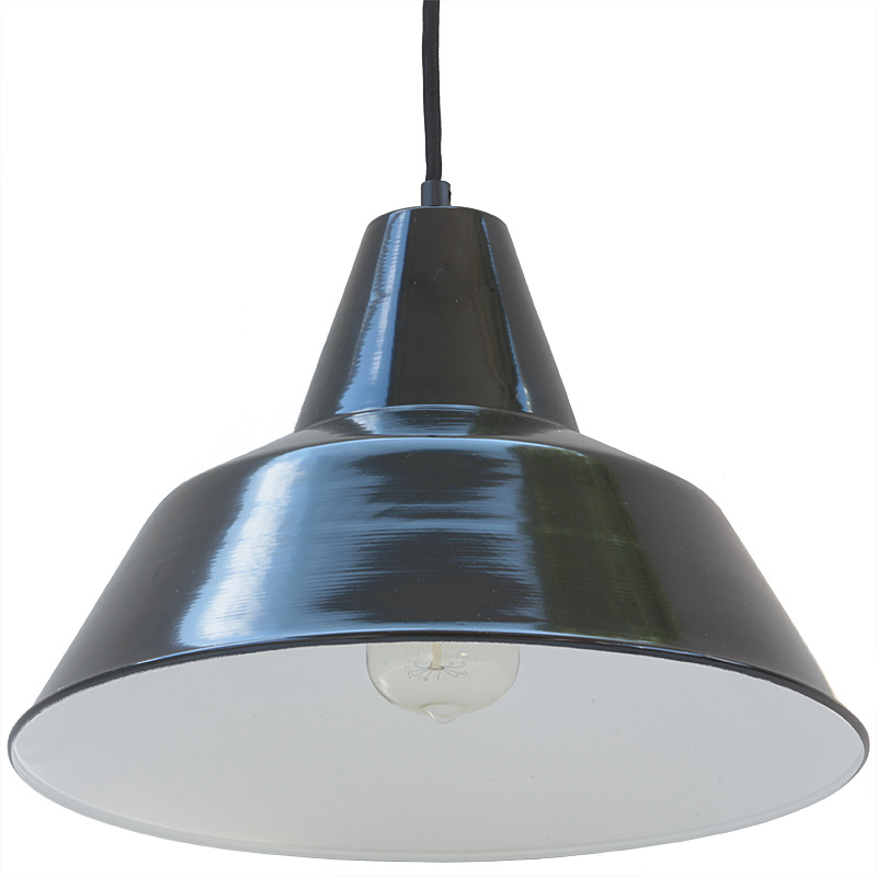 Vintage industrial suspension bielefeld terra lumi - Suspension vintage industriel ...