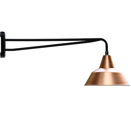 original industrial design wall light bielefeld w340. Black Bedroom Furniture Sets. Home Design Ideas