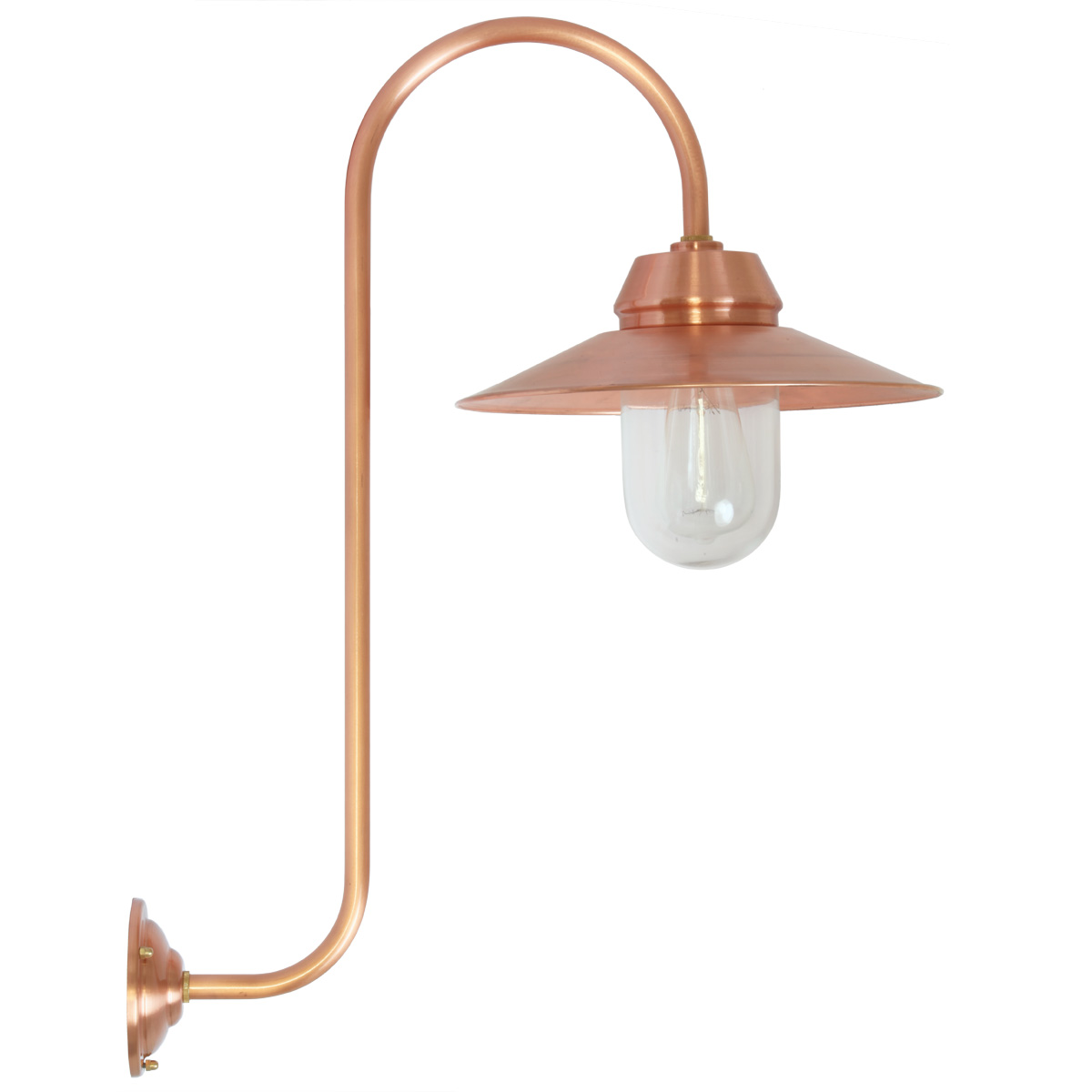 Outdoor Barn Lamp: All-Purpose Outdoor Barn Lamp BW 135 Copper