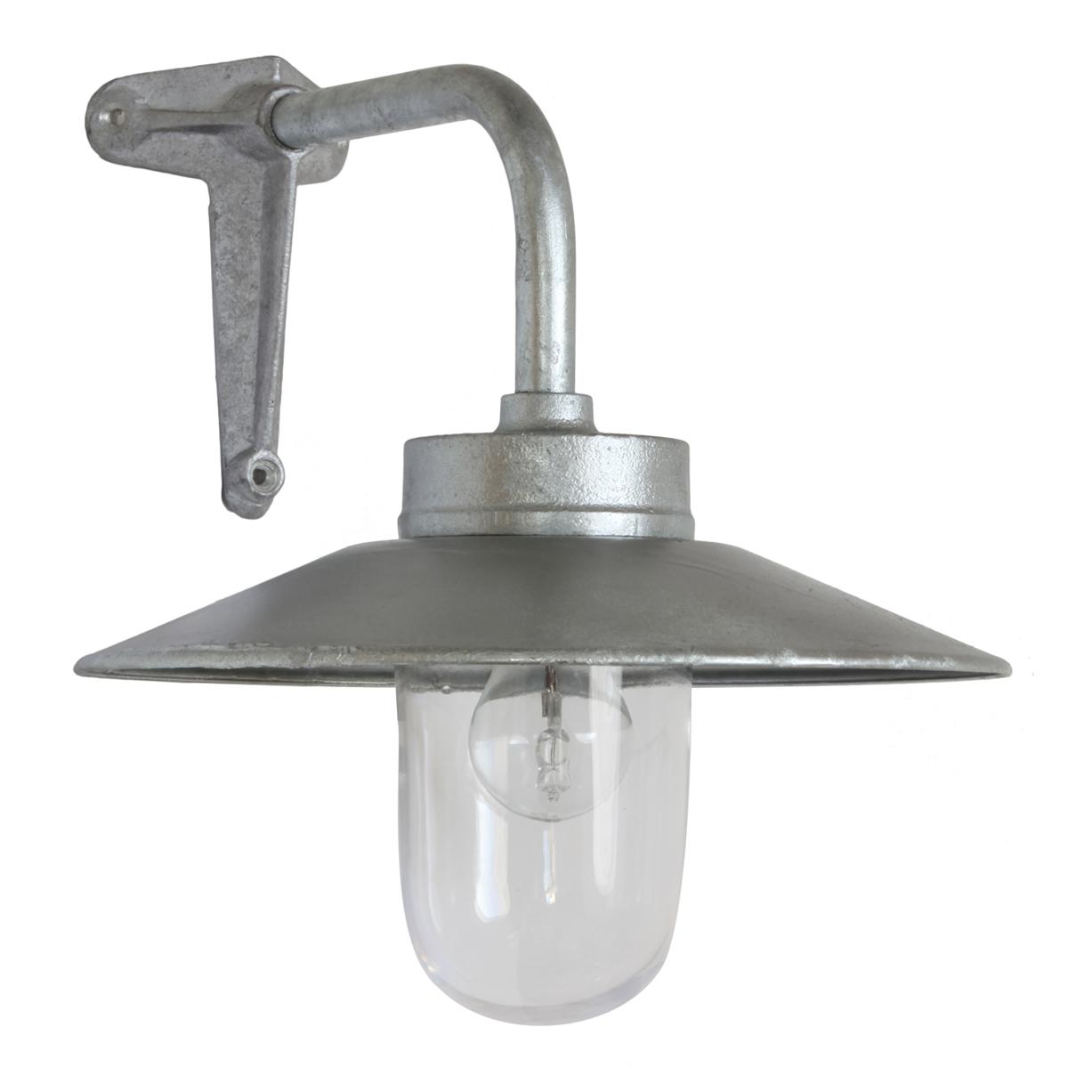corner light in galvanized cast iron or bronze 7680 ga cl. Black Bedroom Furniture Sets. Home Design Ideas