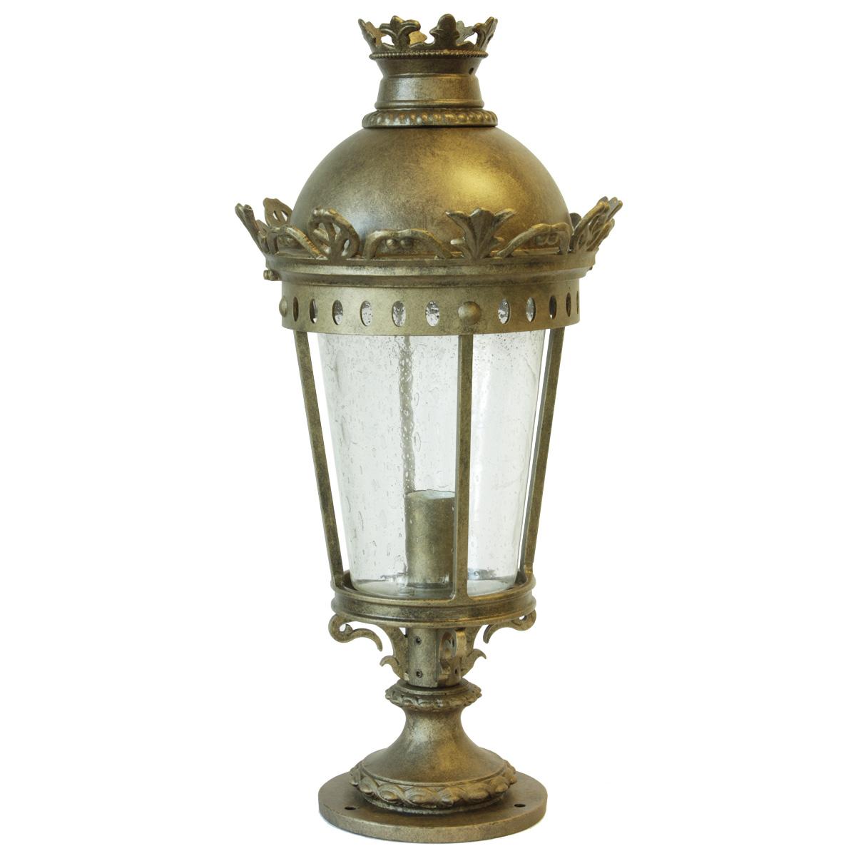 Classic Pedestal Light Al 6877 Terra Lumi