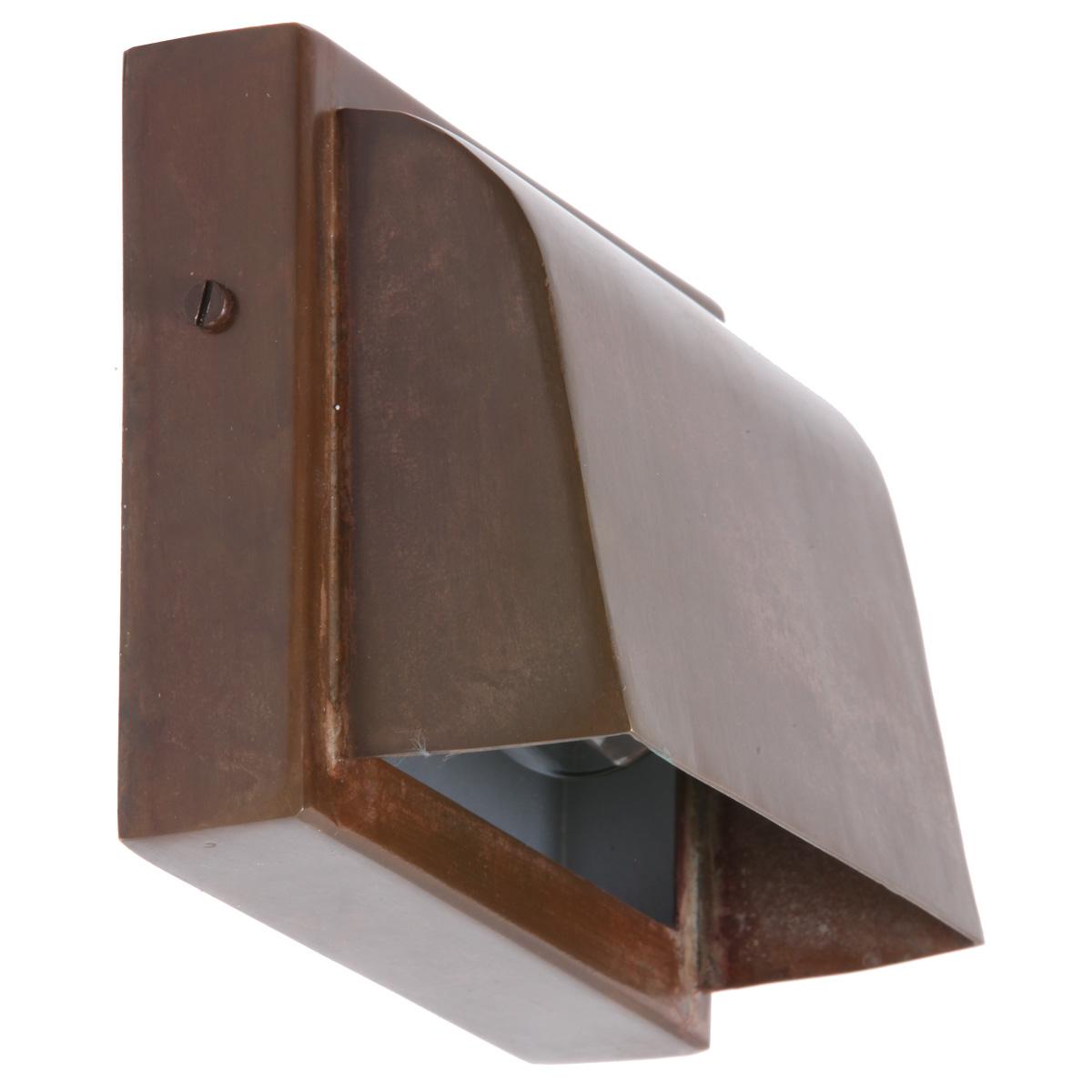 kleine flache wandleuchte f r au en pre terra lumi. Black Bedroom Furniture Sets. Home Design Ideas