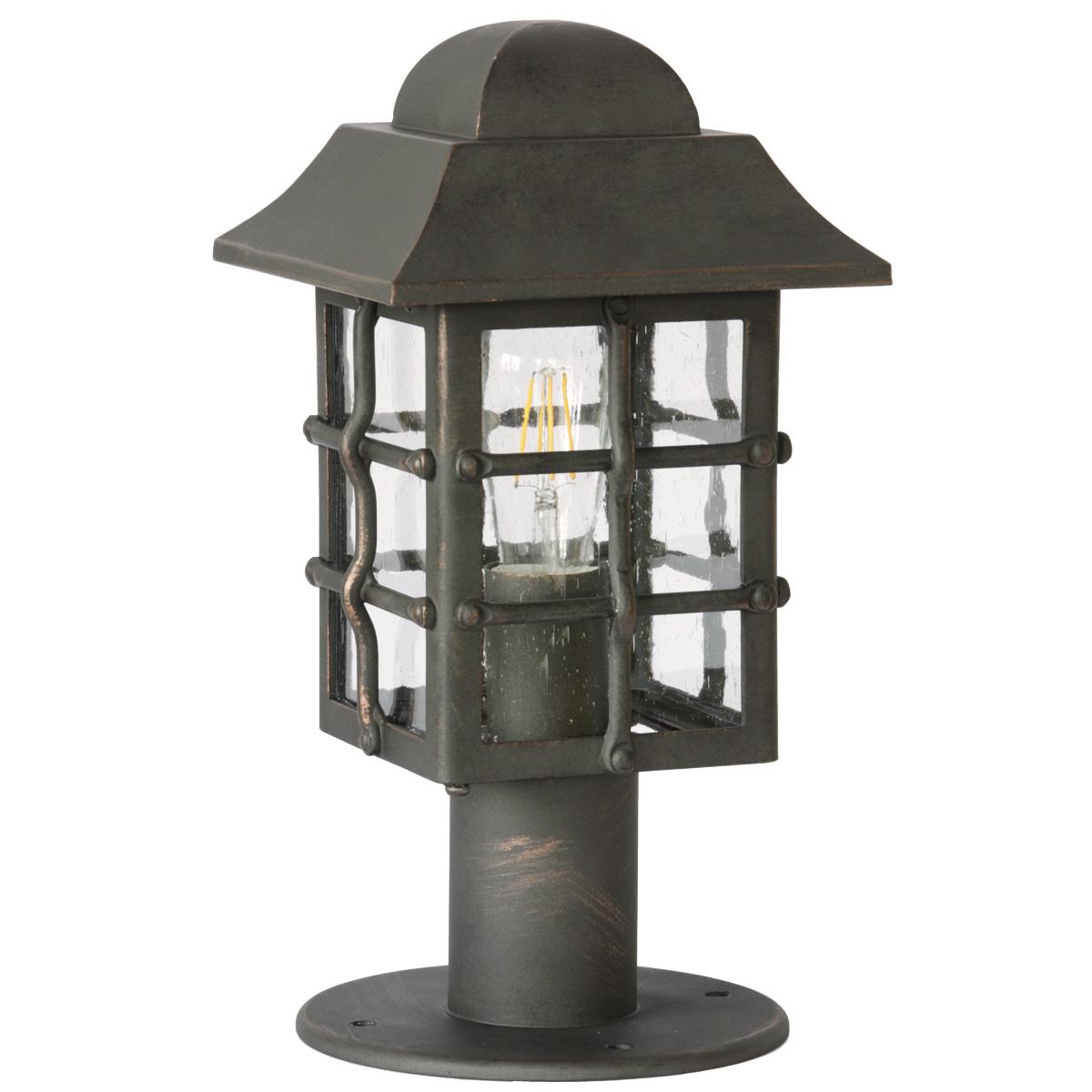 Wrought Iron Socket Light Al 6821 Terra Lumi