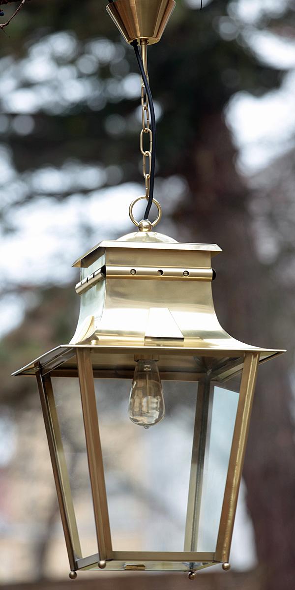 French brass or zinc suspension light meg ve tgm terra lumi for Grosse suspension