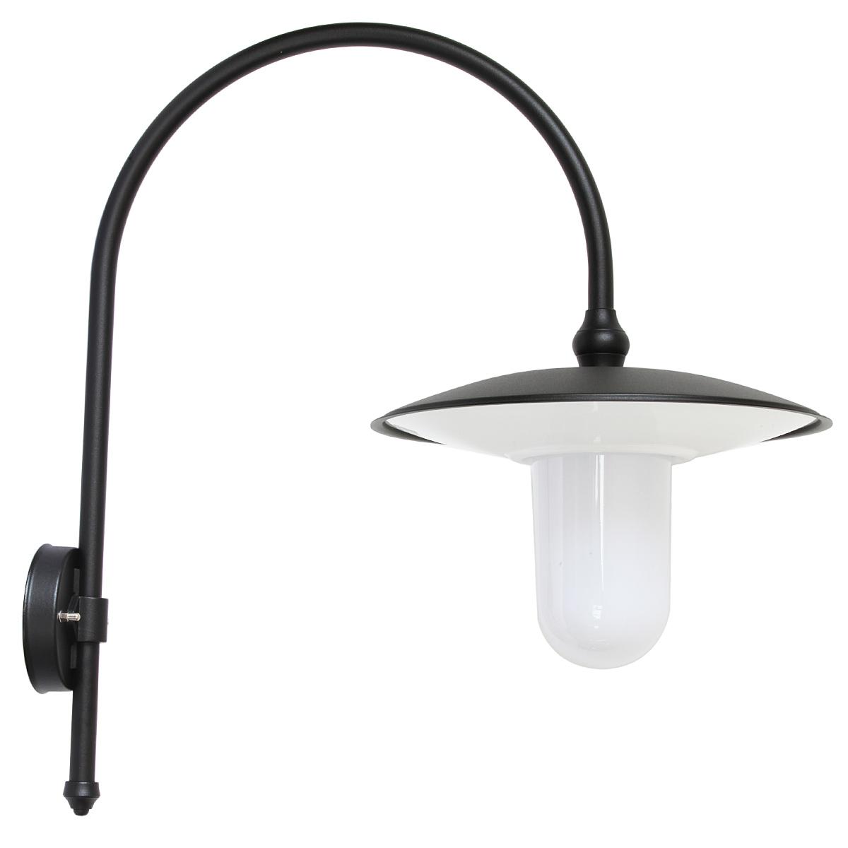 gro e italienische wandlampe f r au en mit bogenarm terra lumi. Black Bedroom Furniture Sets. Home Design Ideas