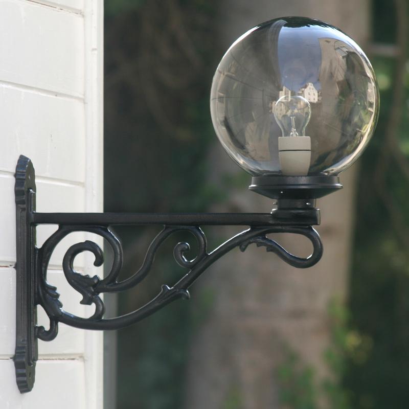 Thorn External Wall Lights : Historical Globe Light Thorn 01 - Terra Lumi