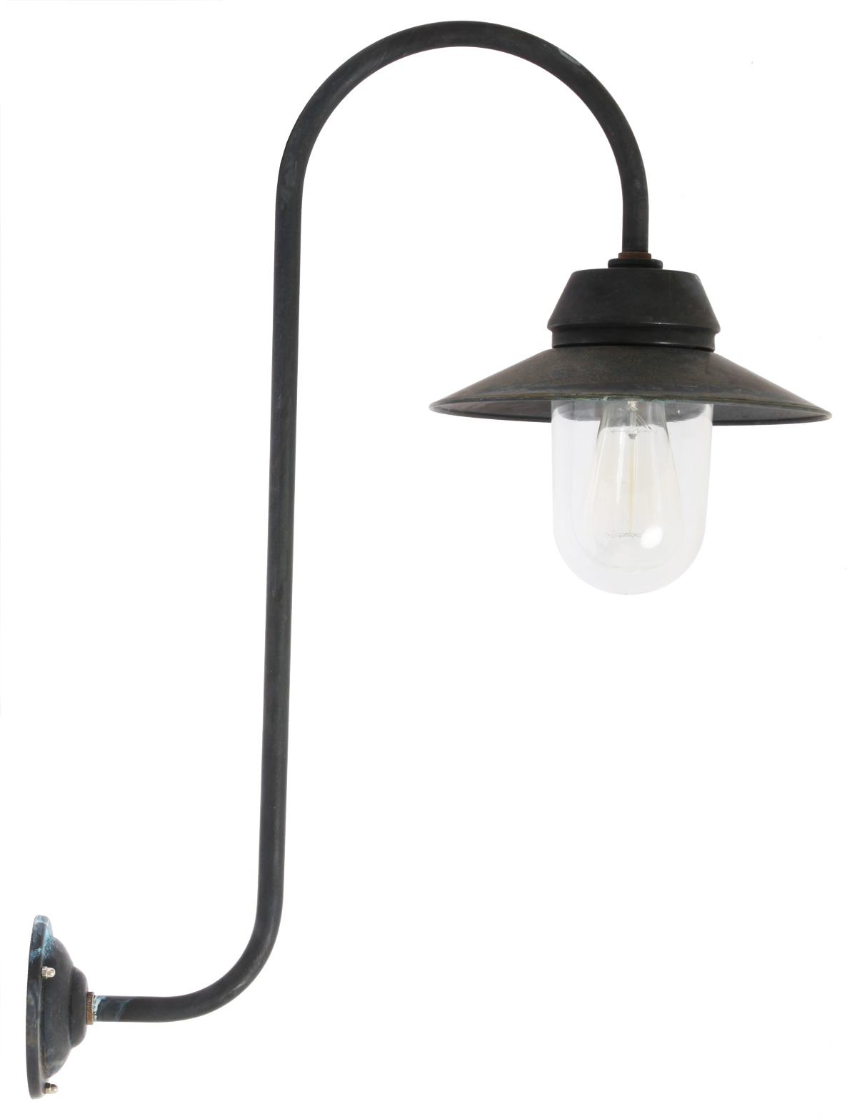 hohe landhaus wandlampe bw 1600 so kupfer terra lumi. Black Bedroom Furniture Sets. Home Design Ideas