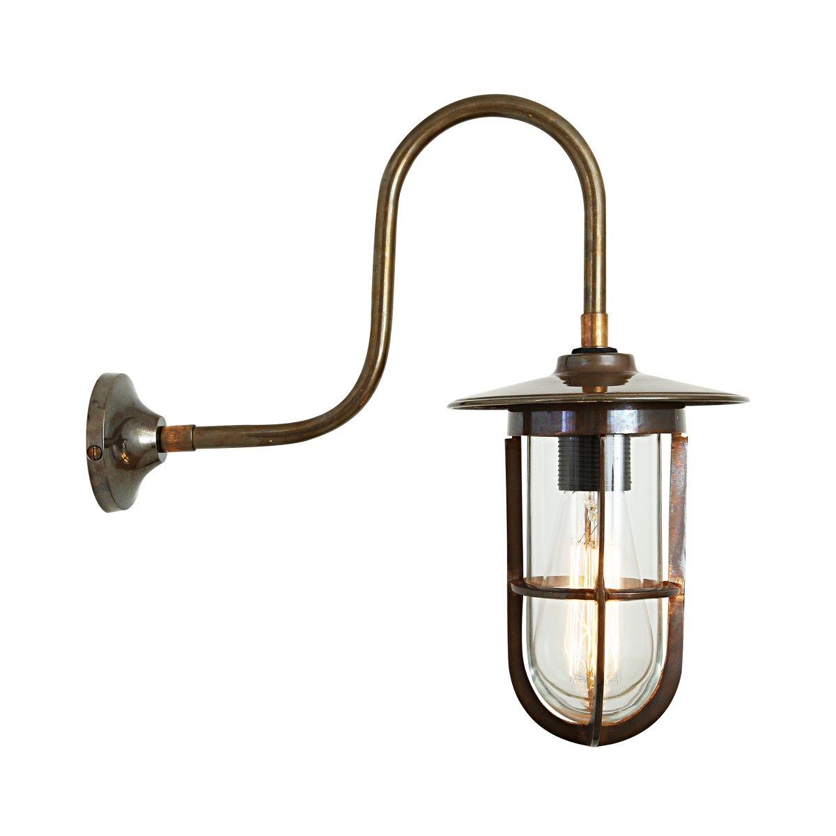 irische lampe f r au en mit vergittertem glas habo terra. Black Bedroom Furniture Sets. Home Design Ideas