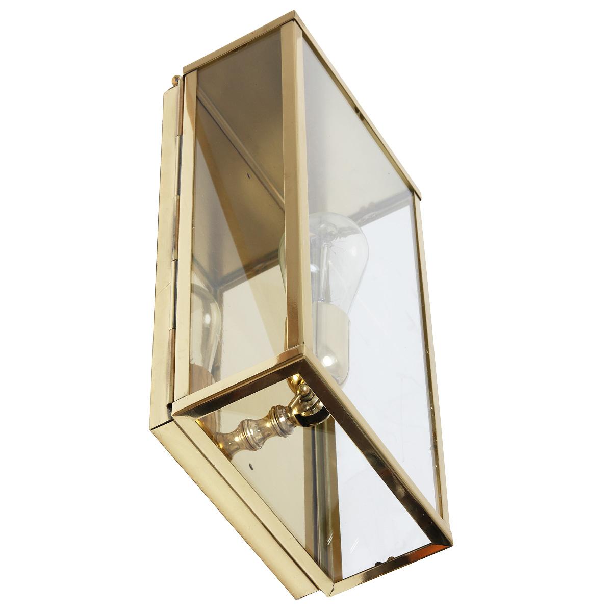 kassetten wandleuchte vitrine 1ln in bronze chrom und nickel terra lumi. Black Bedroom Furniture Sets. Home Design Ideas