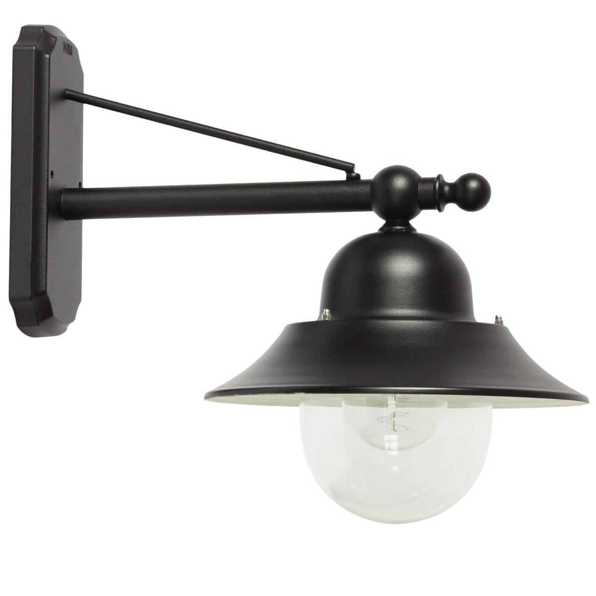 industriestil wandlampe f r au en mit makrolon glas. Black Bedroom Furniture Sets. Home Design Ideas