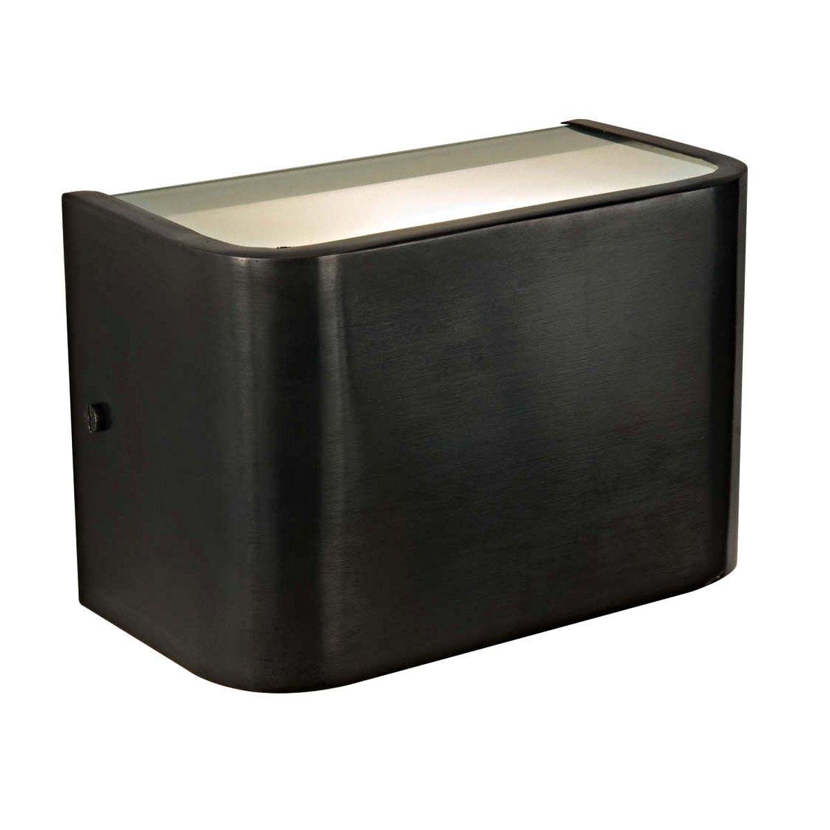 kleiner up and down wandstrahler aus messing vana terra lumi. Black Bedroom Furniture Sets. Home Design Ideas