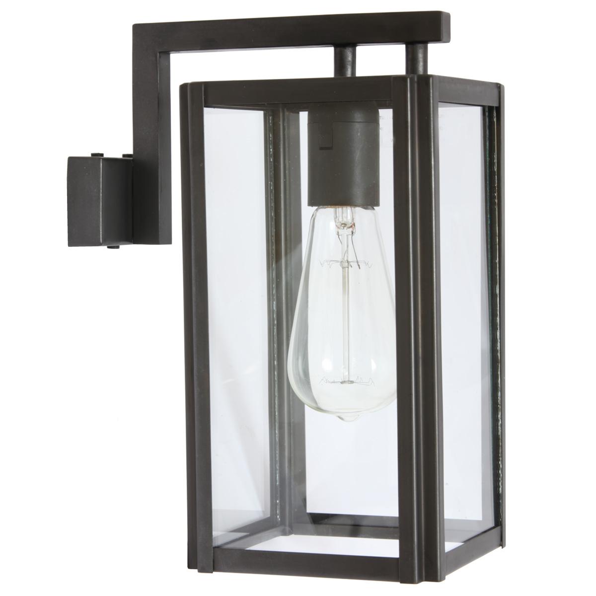 kubische wandleuchte mit arm loft 9050 terra lumi. Black Bedroom Furniture Sets. Home Design Ideas
