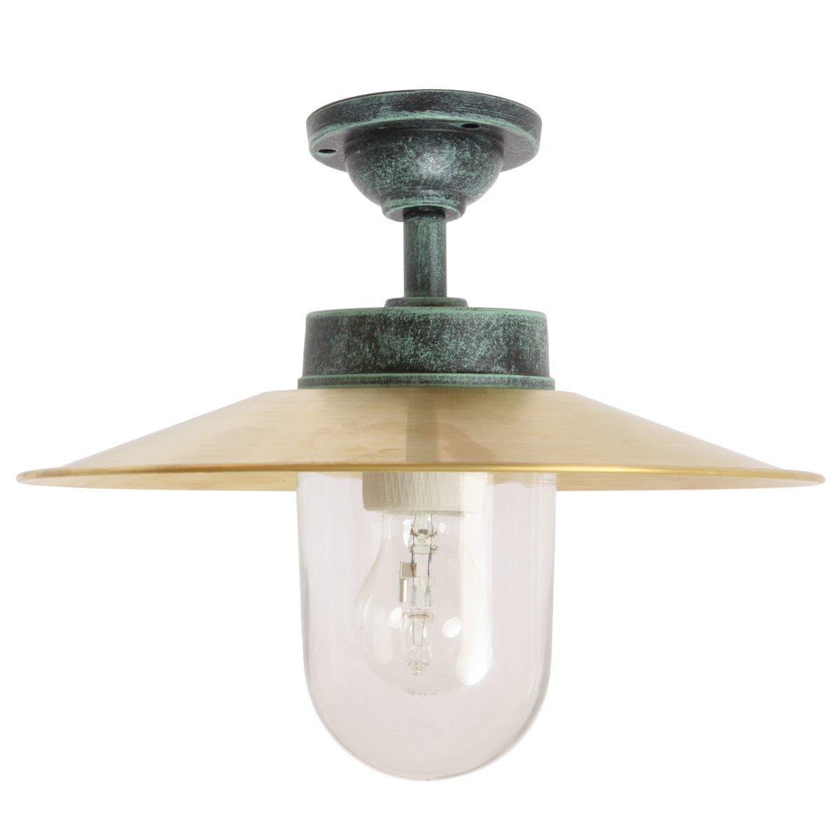 Clical Ceiling Barn Lamp 38 Cl Br With Shade