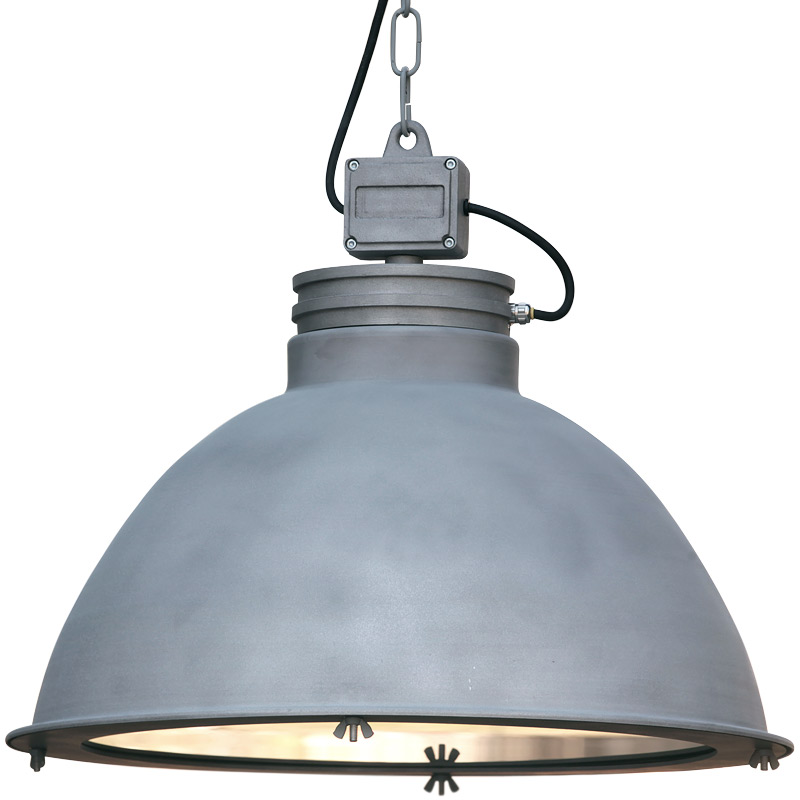 large industrial style aluminum pendant light ore terra lumi. Black Bedroom Furniture Sets. Home Design Ideas
