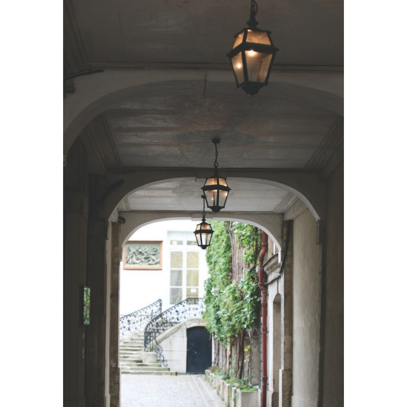 Fine Outdoor Pendant Light Place des Vosges 2 Terra Lumi
