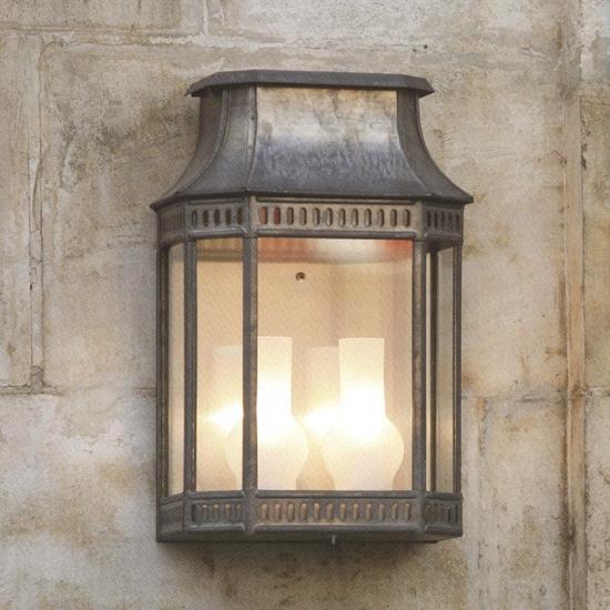 Unique Wall Lantern Louis Philippe 2 Collection Zinc - Terra Lumi