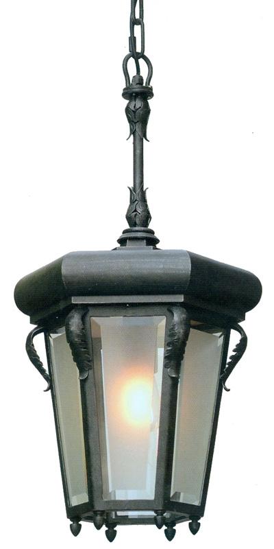 historical wrought iron pendant light hl 2580 terra lumi. Black Bedroom Furniture Sets. Home Design Ideas