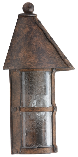 Medieval Wrought Iron Outdoor Sconce Wl 3498 3497 Terra Lumi