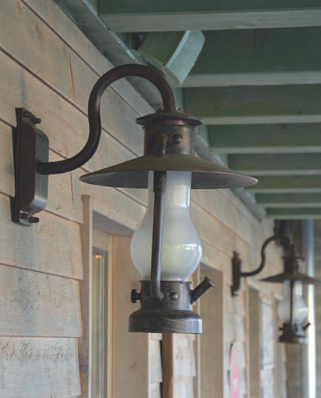 german wrought iron barn light wl 3441 terra lumi. Black Bedroom Furniture Sets. Home Design Ideas