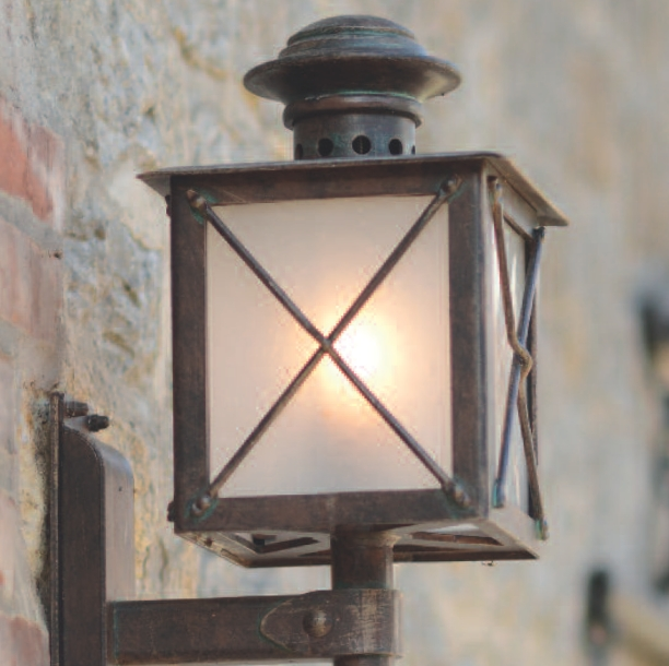 Hand Forged Carriage Light Wl 3609