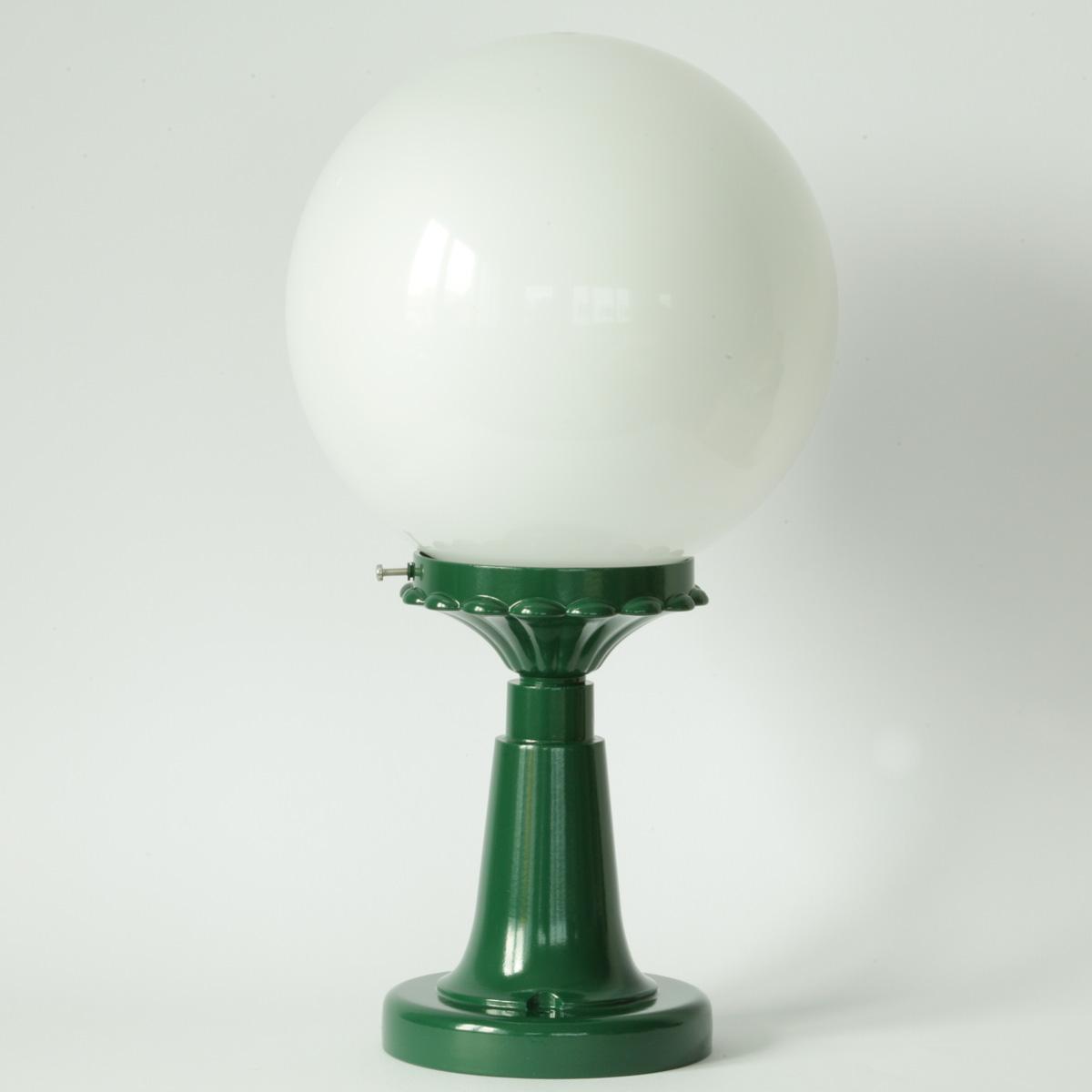 Kugellampe Für Außen Mit Kurzem Sockel Terra Lumi