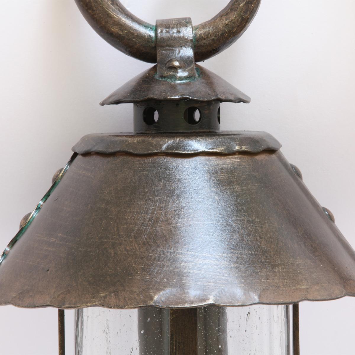 wrought iron pedestal light al 6535 terra lumi. Black Bedroom Furniture Sets. Home Design Ideas