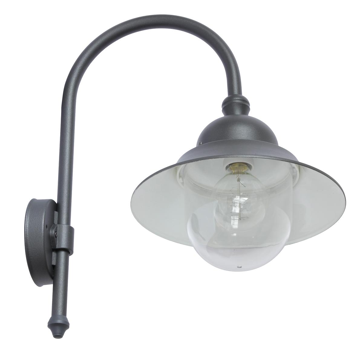 wandlampe f r au en mit industriestil schirm terra lumi. Black Bedroom Furniture Sets. Home Design Ideas
