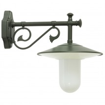 Italian Outdoor Shade Lamp with Makrolon-cylinder