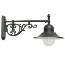Italian Outdoor Wall Lamp with Historical Bracket