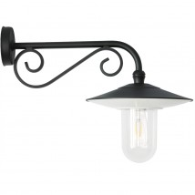 Outdoor Wall Light with Decorative Bracket