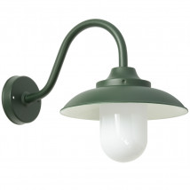 Italian Outdoor Wall Lamp with Cylindric Glass