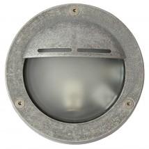 Brass Bulkhead Light with Eyelid Shield 7428Terra Lumi