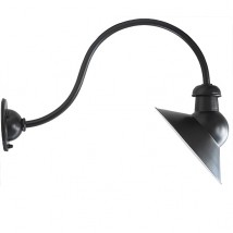 Wrought Iron Wall Light for Sign Illumination WL 3437