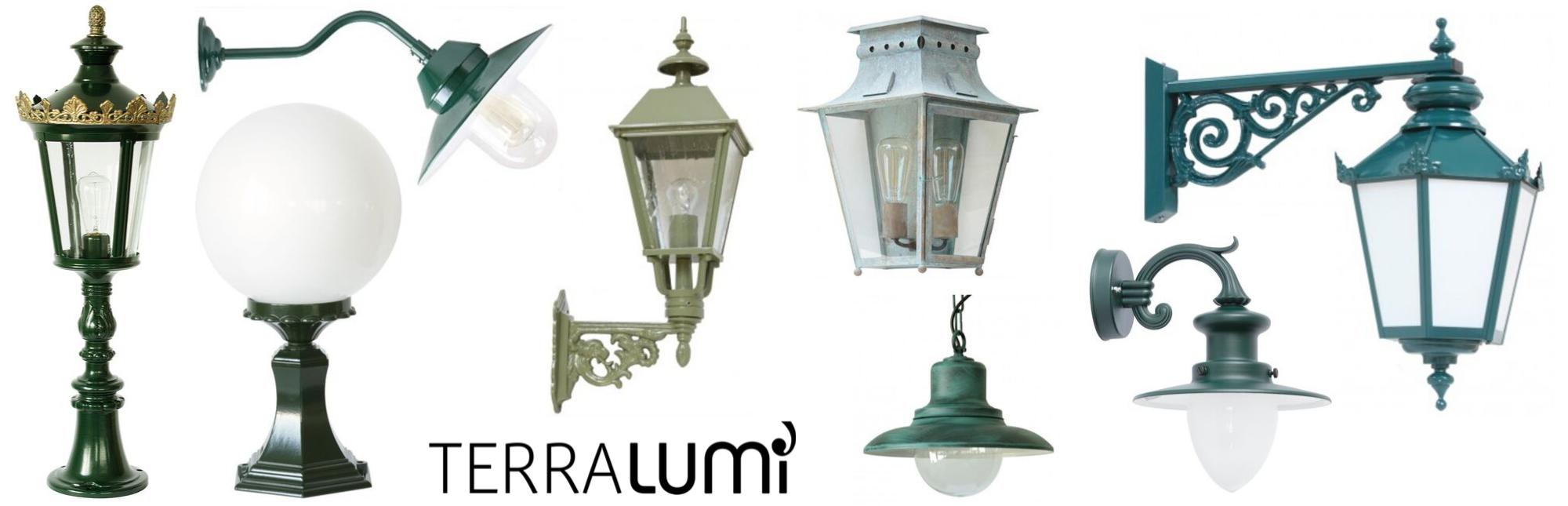 Außenlampen in grün Klassische Wandleuchten und Laternen